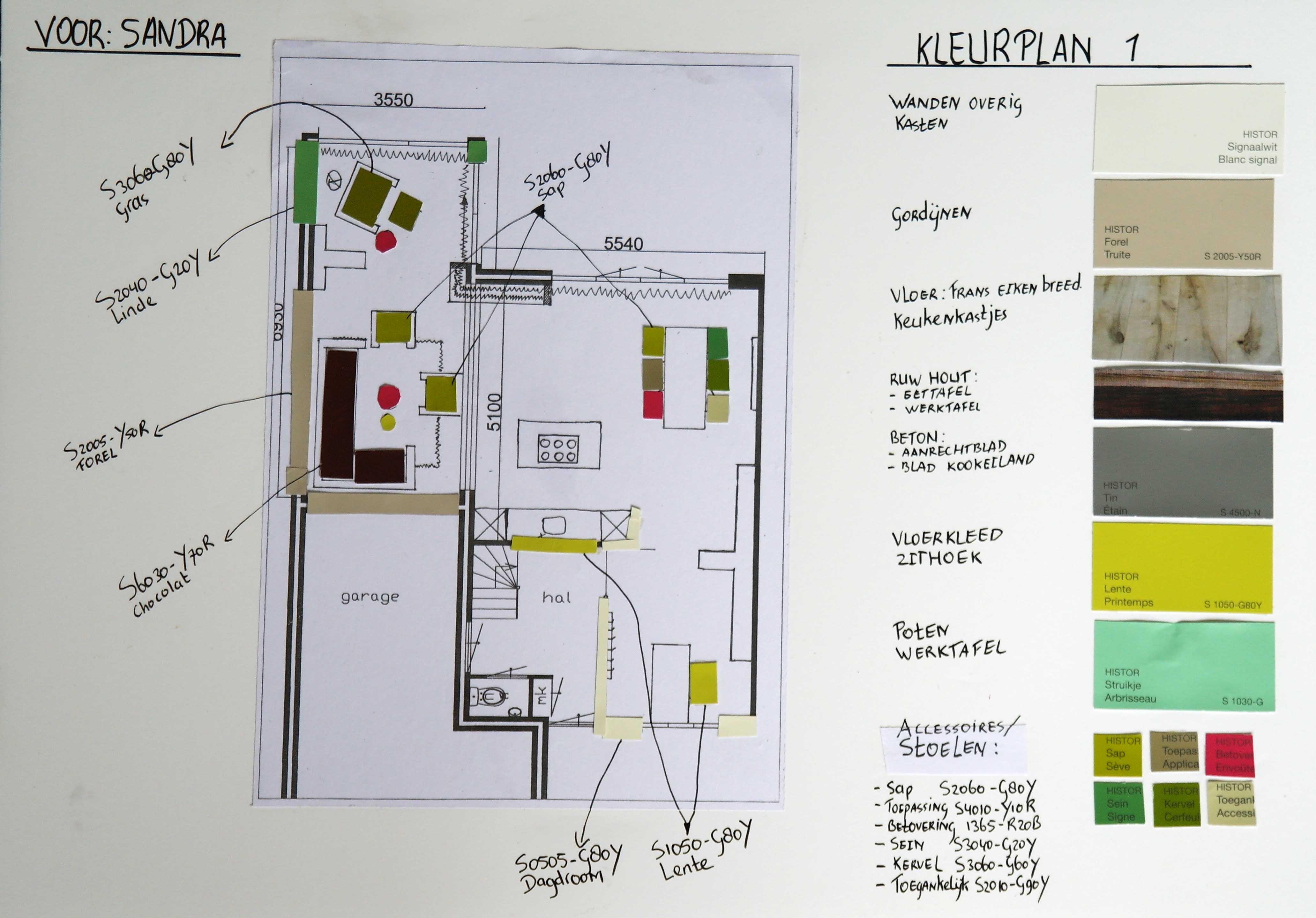 Vrolijke kleuren van kamer tot tuinvan kamer tot tuin for Interieur kleuradvies
