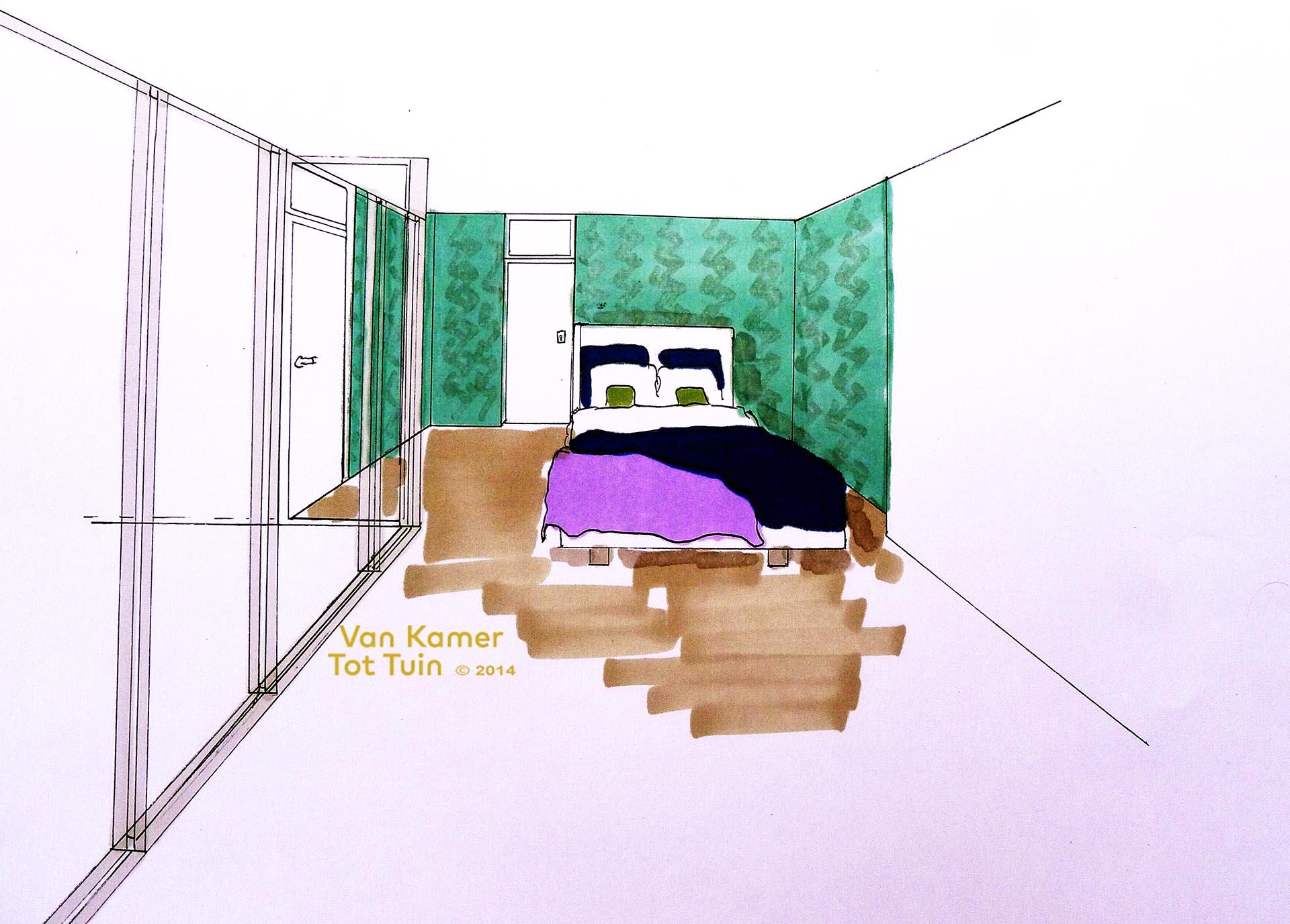Slapen in de garage - Van Kamer Tot TuinVan Kamer Tot Tuin
