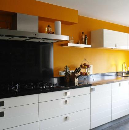 Keuken voor & na